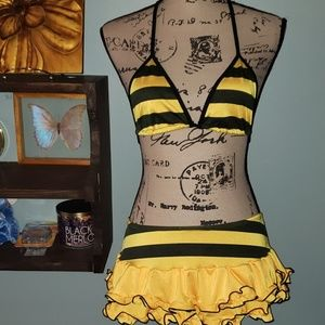 Electric Lingerie Bumble Bee Triangle Top &